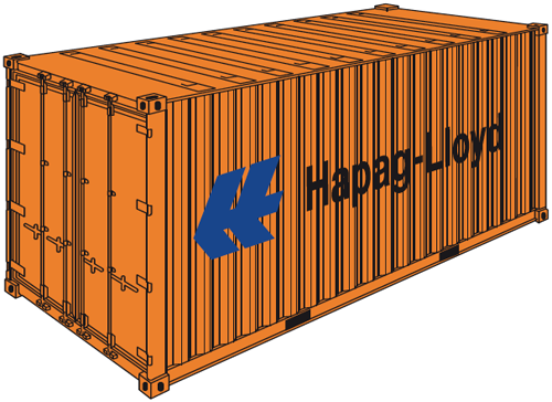 20' General Purpose Container