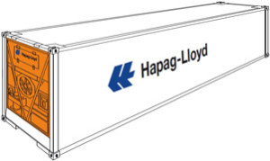 Refrigerated Container 40