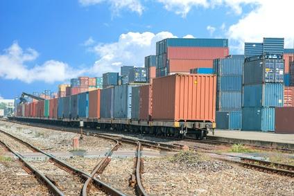 Containerzug - die Alternative zur Seefracht