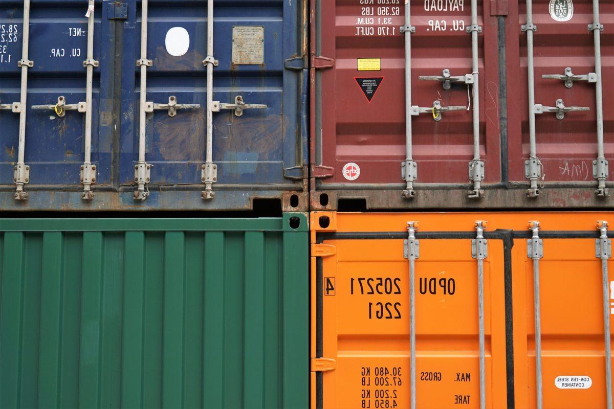 Containerzug Transporte