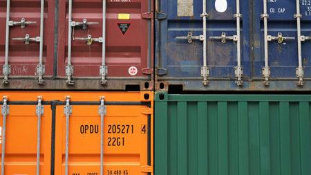 Containertransporte aus Asien nach Europa